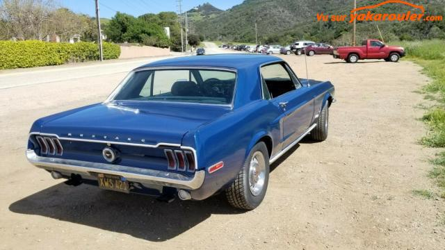 Photo de FORD/MUSTANG/1968-tout-inclus-6