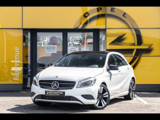 Photo de MERCEDES-BENZ/CLASSE A/180-122-cv-toit-ouvrant-gps-xenon-radar-av-ar-sensation